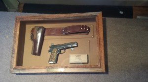 antique military colt 45